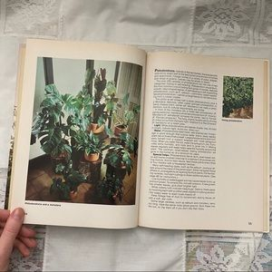 Vintage Houseplants books Better Homes and Gardens